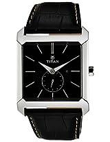 Titan Purple Analog Black Dial Men's Watch - NC9349SL01J