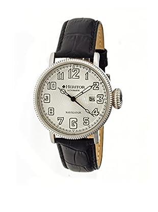 Heritor Automatic Uhr Olds Herhr3201 schwarz 50  mm