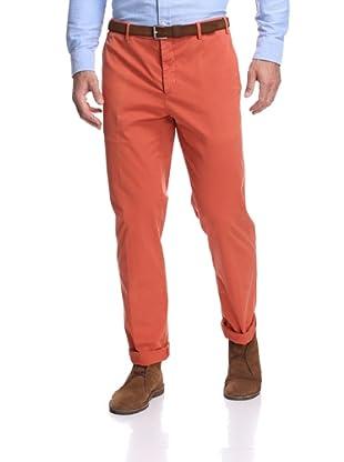 Zanella Men's Casual Pant (Orange)