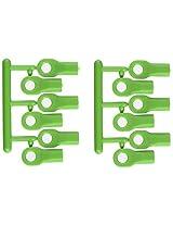 RPM Traxxas Short Rod Ends, Green