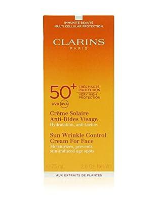 Clarins Crema Solar Antiarrugas Para El Rostro Uva/Uvb 50+ 75 ml 75 ml