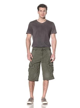 Jet Lag Men's Bebo Cargo Short (Army)