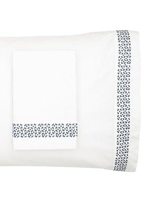 Vera Wang Pair of Shibori Pillowcases