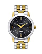 Timex Analog Black Dial Men's Watch - TW000T122