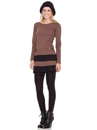 HHG Vestido Victoria (marrón)