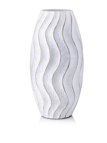 Mercana Décor Serenade Vase (White)