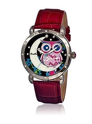 Bertha Uhr mit Japanischem Quarzuhrwerk Ashley rot 41 mm