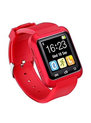 Bluetooth Smart Watch for iOS & Android, Red