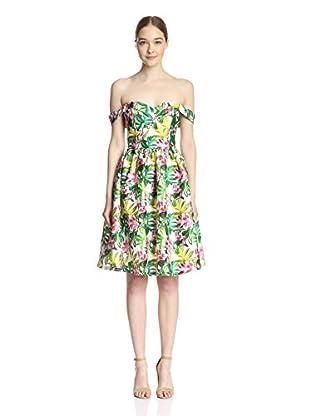 Gracia Women's Off-Shoulder Floral Dress