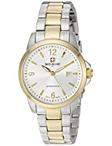 Swiss Military by R Women's  54006 357J A Alpha Analog Display Swiss Quartz Two Tone Watch