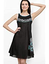 Black Printed Dresses