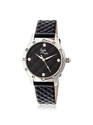 Sophie and Freda Women's SF3205 Lancaster Black Leather Watch