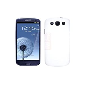 White Ultra Thin Rubberized Matte Hard Back Case Cover for Samsung Galaxy S3 i9300