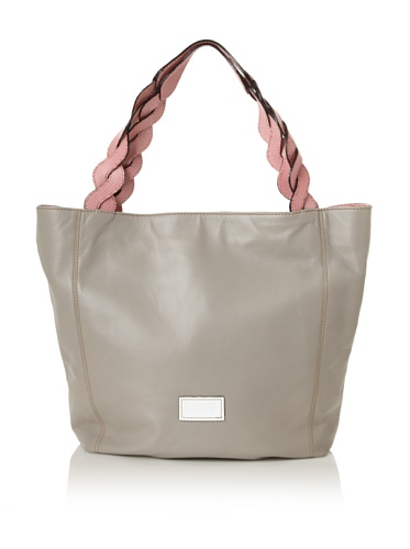 Meredith Wendell Women's Curve Strap Tote (Grey)