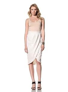 Twinkle by Wenlan Women's Magic Carpet Skirt (Maze Eyelet White)