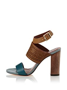 Elizabeth and James Women's Clair Sandal (Teal)