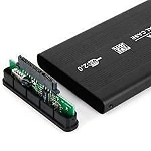 "GOOD QUALITY RANZ External 2.5 "" inch Sata Casing HARD Disk Drive Usb portable HDD CASE Enclosure for Laptop- Black"