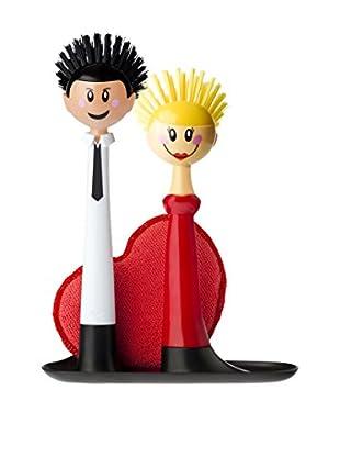 VIGAR Kit de Limpieza 4 Piezas Dolls Couple Blanco / Rojo