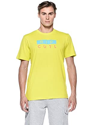 Rip Curl T-Shirt Owen Stack S/S Tee (Lime)