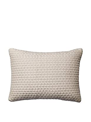 Vera Wang Stitched Quilted Decorative Lumbar Pillow, Lilac