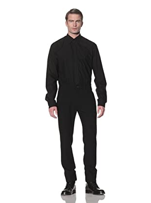 Ann Demeulemeester Men's Wool Pleated Front Trousers