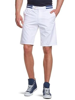 Scotch & Soda Shorts Chino Striped (Denim Weiß)