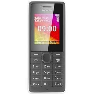 Nokia 107 (Dual SIM, White)