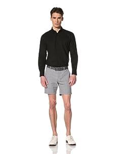Brent Wilson The Basics Men's Soft Summer Voile Shirt (Black)