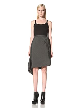 Rick Owens Women's Woven Skirt (Darkshadow)