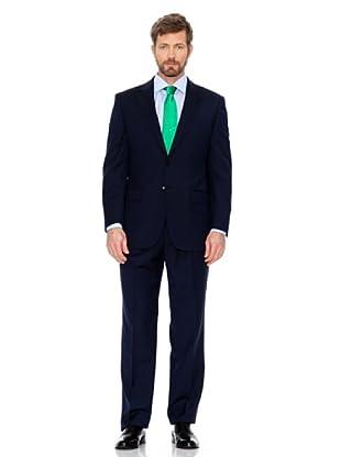 Cortefiel Klassischer Anzug (Nachtblau)