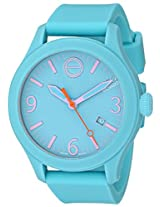 Esq Movado Esq Movado Unisex 07101432 One Analog Display Swiss Quartz Blue Watch - 7101432