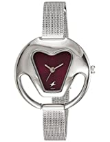 Fastrack Women's Red Dial Analog Watch - 6103SM02