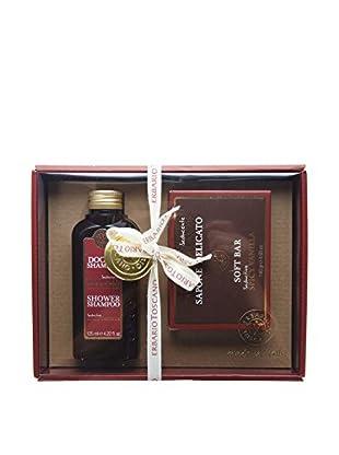 Erbario Toscano Spicy Vanilla 2-Piece Shampoo & Soap Gift Set