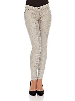 Pepe Jeans London Pantalón Print (Gris Claro)