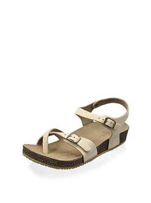 Lara + Lillian Women's Julie Quarter Strap Sandal (Camel)