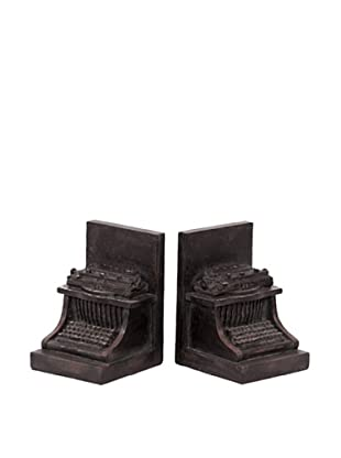 Urban Trends Collection Typewriter Bookends