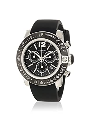 Glam Rock Men's GR32134 SoBe Chronograph Black Silicone Watch
