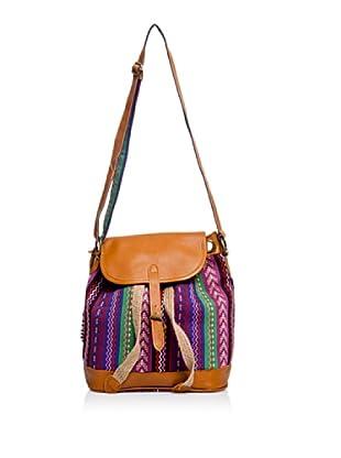 Pepe Jeans London Tasche Nura Bag (Braun/Violett)