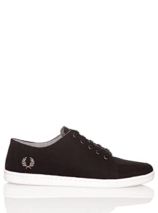 Fred Perry Deportiva Lawrence Canvas Black (Negro)