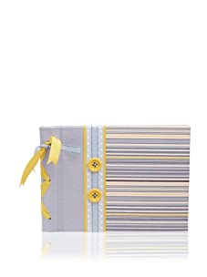 Molly West Prince-Large Paper Album, Blue/Yellow