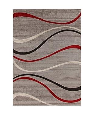 ABC Teppich Casa Weaves Grey mehrfarbig