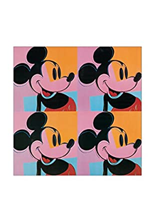 Artopweb Panel Decorativo Warhol Mickey Mouse 50x50 cm Multicolor