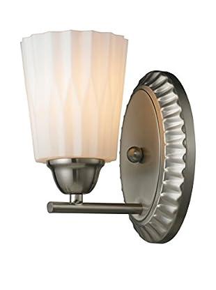 Artistic Lighting Waverly 1-Light LED Bath Bar, Brushed Nickel