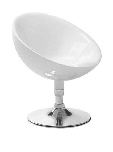 Zuo Neptune Lounge Chair (White)
