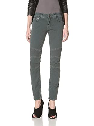 Rockstar Denim Women's Biker Jeans (Light Green)