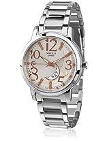 Sheen She-4028D-7Adr-Sx072 Silver/White Analog Watch