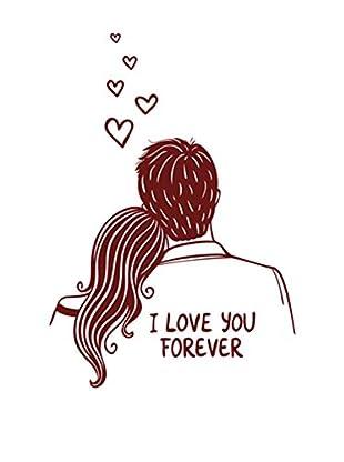 LO+DEMODA Wandtattoo My Love