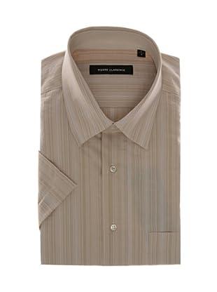 Pierre Clarence Camisa de manga corta (Beige)