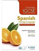 Cambridge IGCSE® and International Certificate Spanish Foreign Language Teacher Resource & Audio-CDs (Cambridge Igcse Modern Foreign Languages)