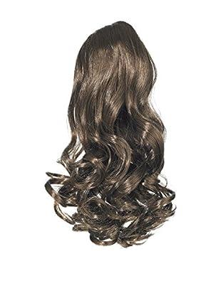 Love Hair Extensions Kunsthaar-Pferdeschwanz Gushy Bird mit Kordelzug 40,5cm, 4 Chestnut Brown